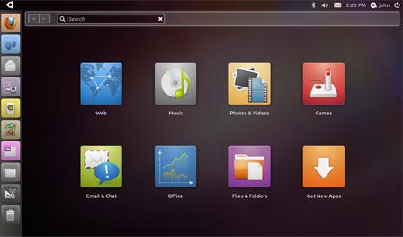Ubuntu 10.10 unity interface