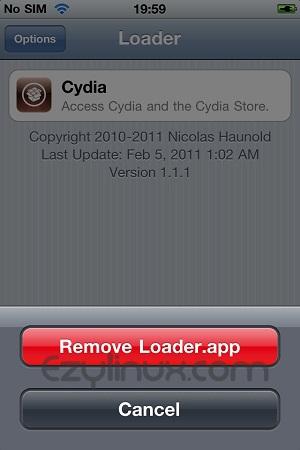 Remove Loader.app