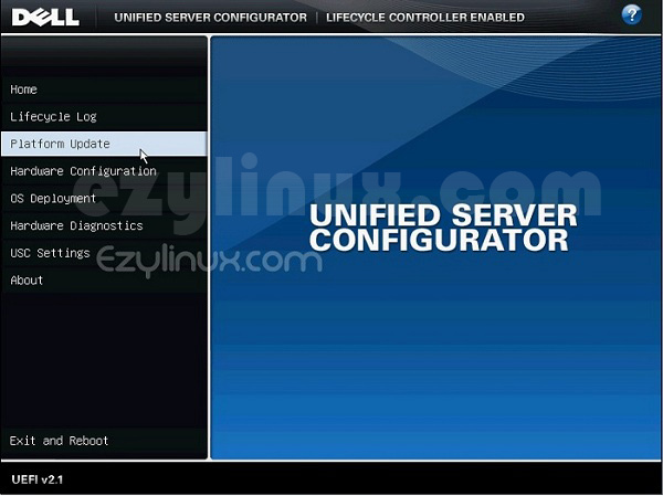 Dell Unified Server Configurator